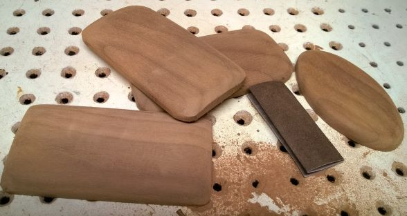 Nutcracker Stand - Shaped and sanded smooth.