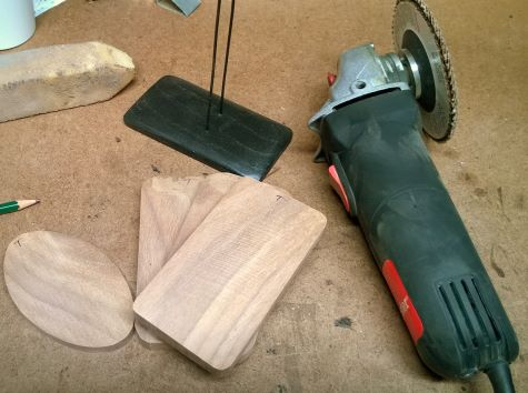 Nutcracker Stand - Ready for grinding