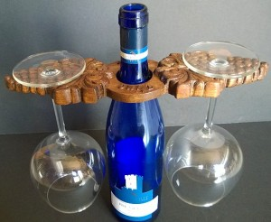 Grapes/ Vino Wine Caddy